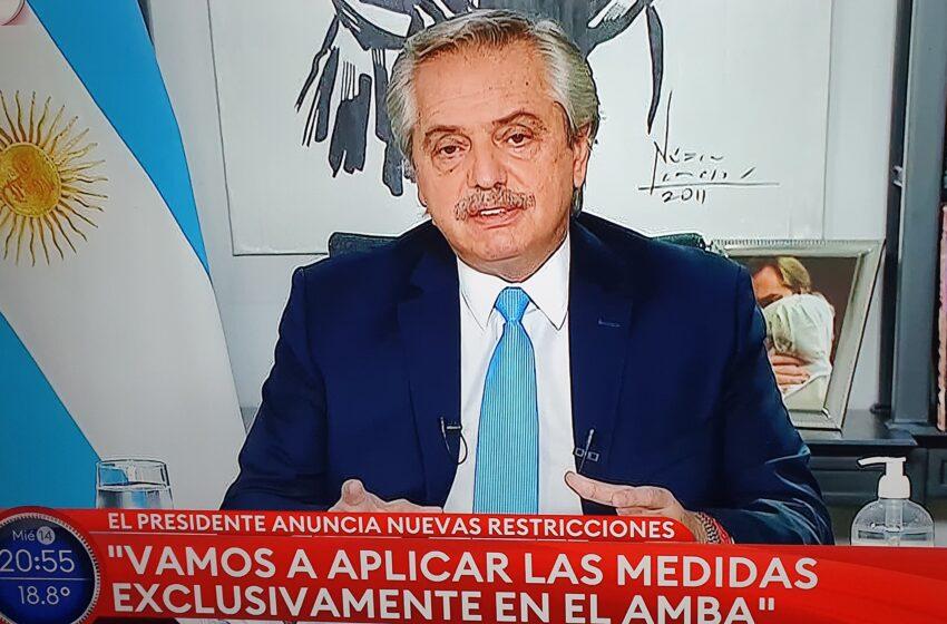 La desafortunada frase de Alberto Fernández con Pedro Sánchez generó molestias en el oficialismo