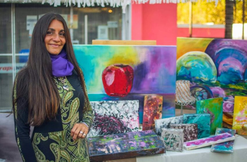 Hoy presentamos  a Carolina Yapura, arte y diseño. Varias técnicas, un solo estilo creativo y distintivo.