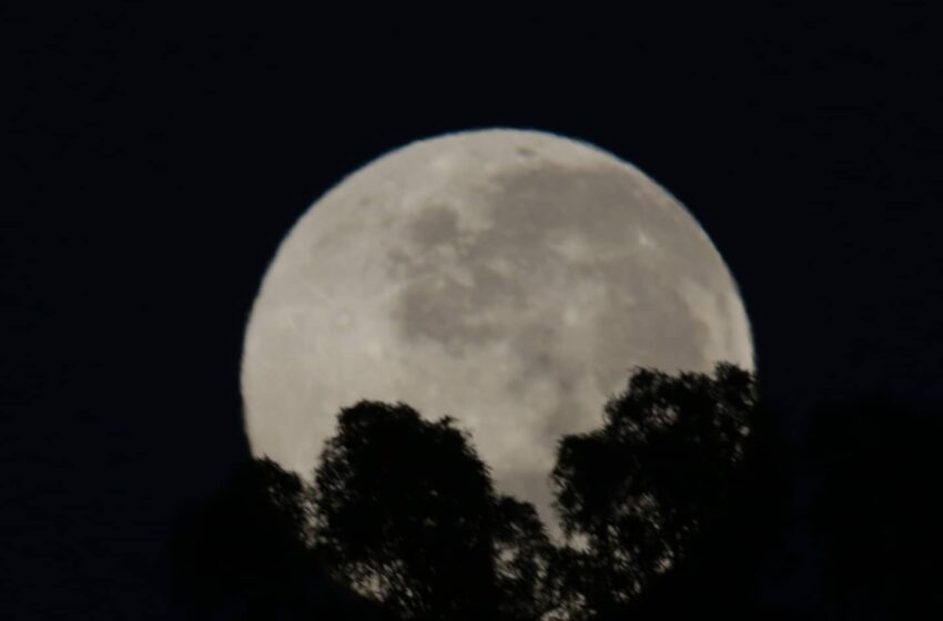 Super Luna en Córdoba