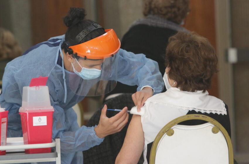El domingo se vacunaron 9.491 personas contra el Covid-19