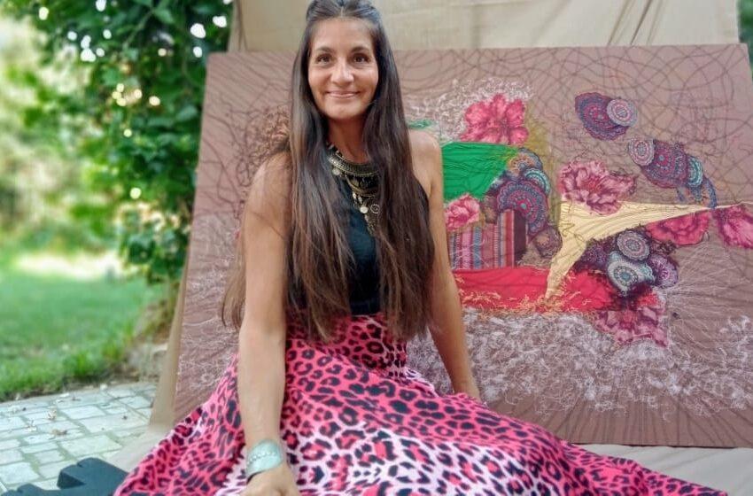 Carolina YapuraDel taller al mundo , final de obra.