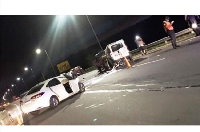 Accidente sin perdida de vidas en autopista Córdoba/ Carlos Paz