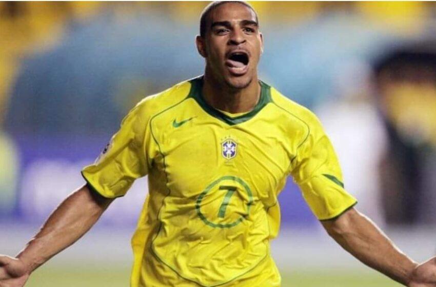 """La carta de Adriano que conmueve al fútbol: """"Volví a la favela, volví con mi gente"""""""