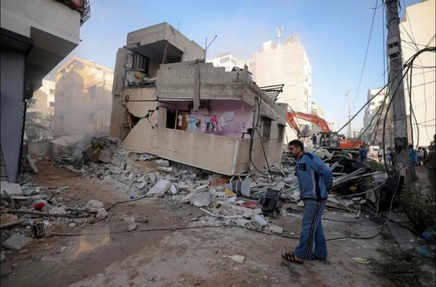 Al menos 33 muertos en Gaza en un día, el mayor número de víctimas desde el lunes (autoridades locales) #AFP