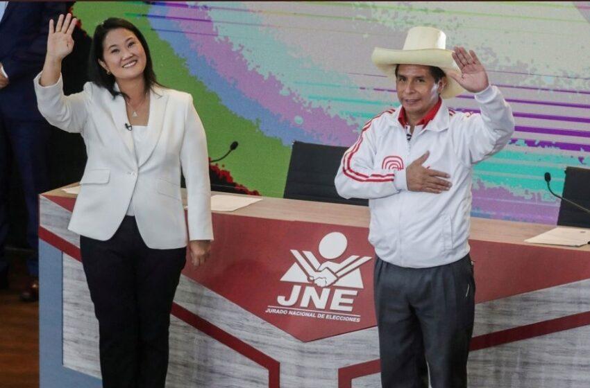 Elecciones en Perú, candidata Fujimori dice que hay fraude electoral.
