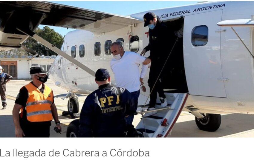 El golfista Ángel Cabrera llegó a Córdoba para enfrentar su juicio por violencia de género