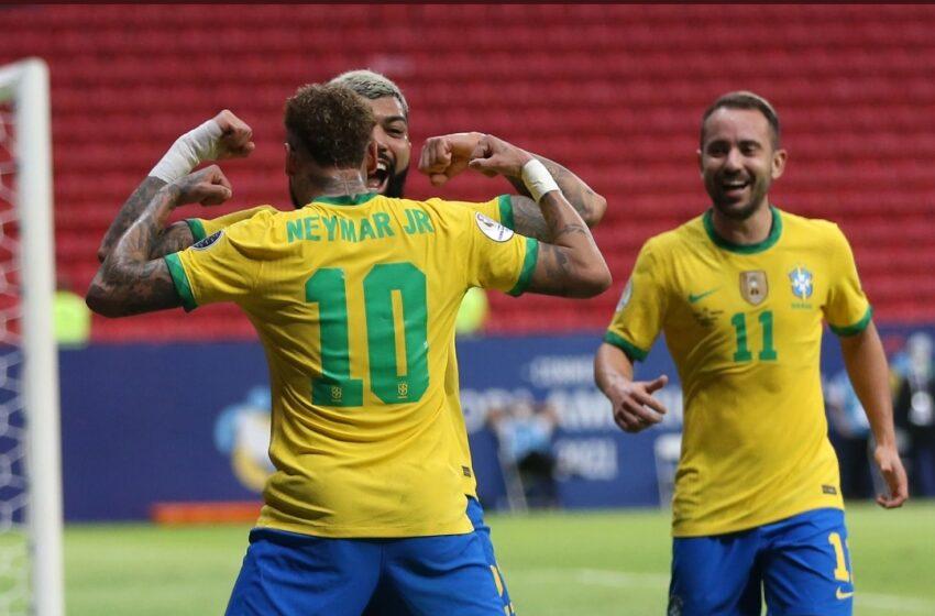 Brasil abrió la Copa América con una goleada sobre Venezuela