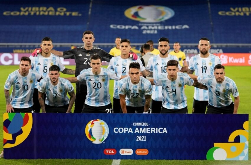 Otro empate para la Argentina: fue 1-1 contra Chile en su debut en la Copa América