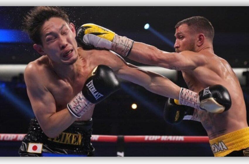 Lomachenko venció por TKO a Nakatani y buscará recuperar sus títulos de peso ligero
