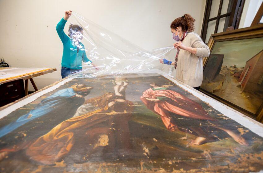EL MUSEO GENARO PÉREZ YA RECUPERA OBRAS DE ARTES