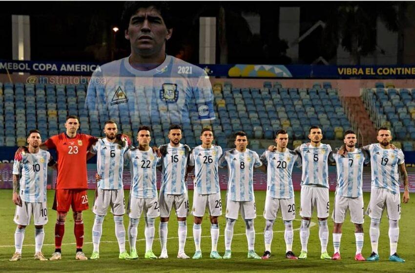 Argentina goleó a Ecuador avanzando a semifinales. Aca las imágenes