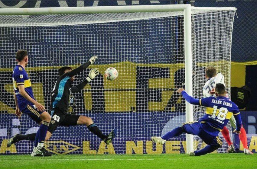 San Lorenzo le gana a Boca en la Bombonera
