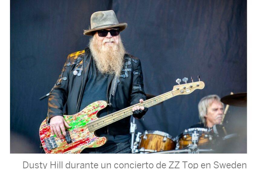 Falleció Dusty Hill legendario bajista de ZZ TOP.