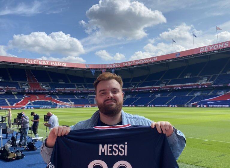 Ibai Llanos entrevisto a Messi en vivo por twitch
