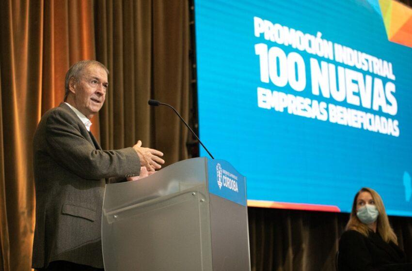 100 nuevas industrias cordobesas recibieron los beneficios de la Promoción Industrial