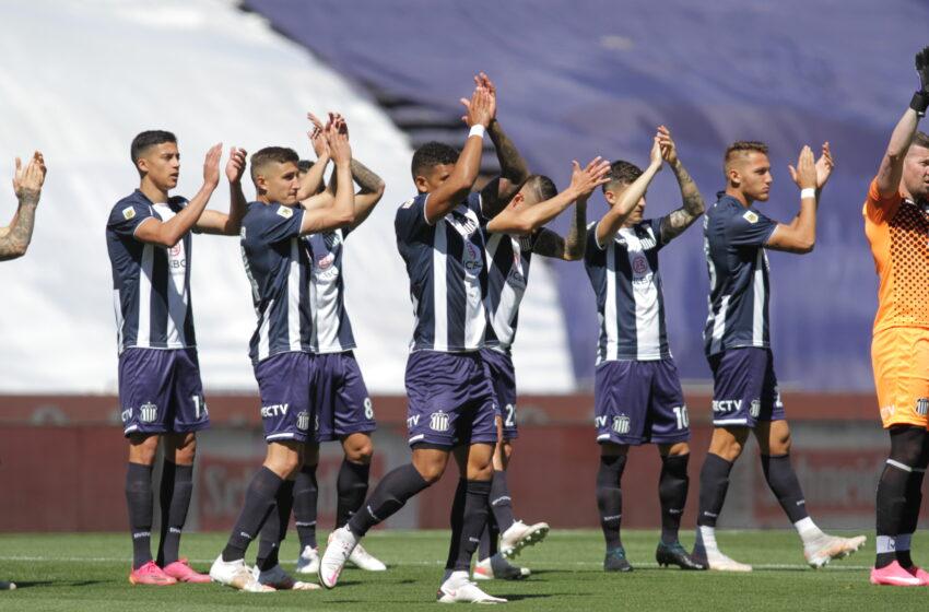 Talleres goleó a Rosario Central 4 a 1 y se afianza en la punta