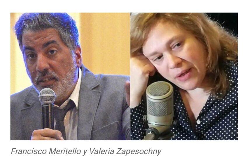 Más cambios en el Gobierno: Valeria Zapesochny reemplaza a Meritello en la Secretaría de Medios